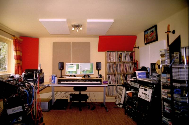 recording studio acoustic treatment