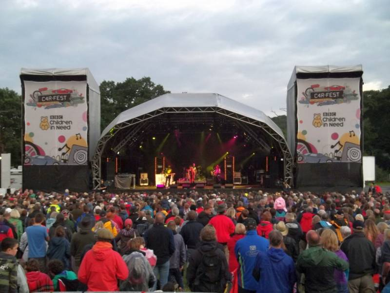 outdoor music events