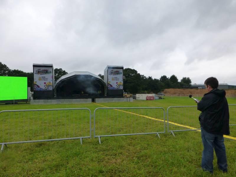 festival sound system design